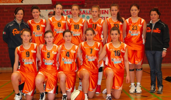Kinder+Sport U17 tiene in alto l&#8217;orange in Austria